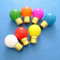 G-40/G-45 SMALL ROUND COLOR BULBS